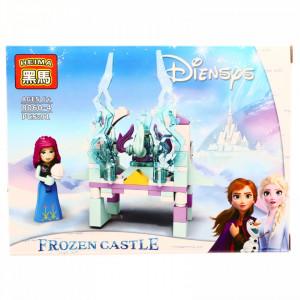 Set de constructie, Frozen si poarta magica, 91 piese