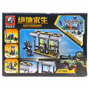 Set de constructie Lego, Centrul de teleportare tip PUBG, 89 Piese