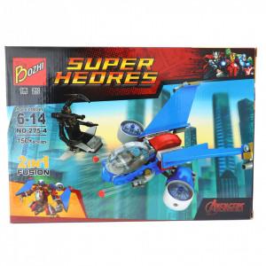 Set de constructie Lego, Nava Spatiala tip Captain America, 150 piese