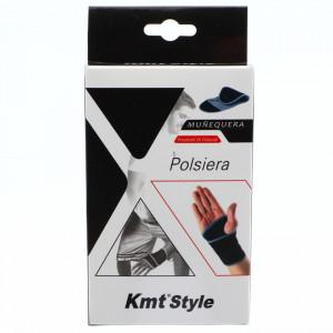 Suport elastic pentru mana, compatibil cu activitatea fizica, ofera confort si siguranta, Neopren, marime universala, Negru