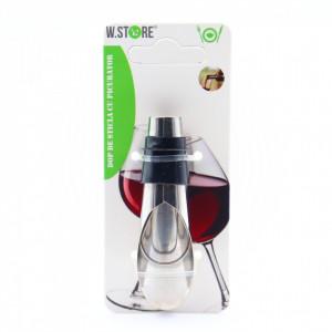 Dop sticla vin cu picurator, Inox