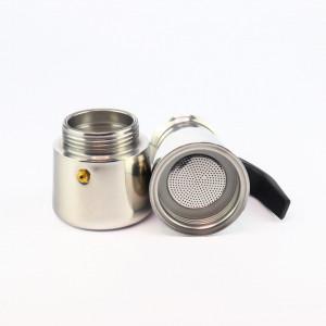 Espressor de cafea pentru aragaz sau plita cu inductie, 4 cesti