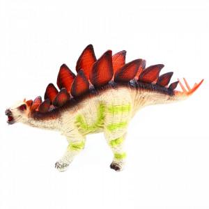 Figurina dinozaur, Stegosaurus cu sunet reprodus dupa dinozaurul real, 23 cm