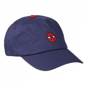 Sapca Spiderman cu logo brodat, Albastru, 53 cm