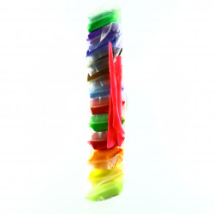 Set 12 pachete, Plastilina, Multicolor