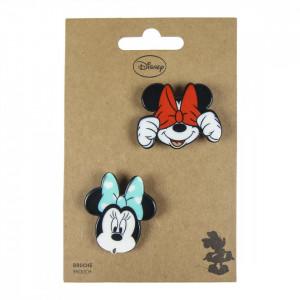 Set 2 insigne Minnie, Disney, 4.5 x 4 cm