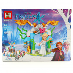 Set de constructie, Elsa si intrarea spre taramul de gheata, 78 piese