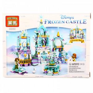 Set de constructie, Frozen si scarile castelului de gheata, 84 piese