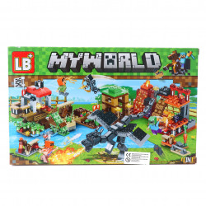 Set de constructie Lego, Fortareata din gradina, 131 piese