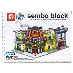 Set de constructie Lego, Hotel cu apartamente, 199 piese