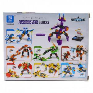 Set de constructie Lego, Poisonous Devil, 88 piese