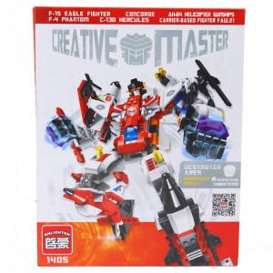 Set de constructie Lego, Robot Creative Neinfricats, 536 piese
