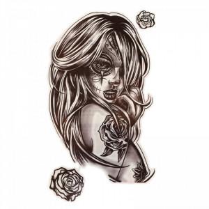 Tatuaj temporar, Ispita, GF830, 17 x 9 cm
