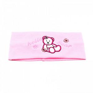 Bentite pentru fete, cu imprimeu ursulet, Roz deschis