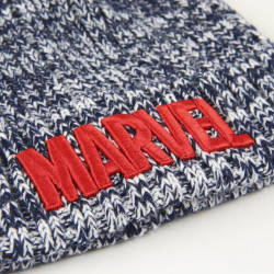 Caciula Marvel cu logo brodat, 40 cm