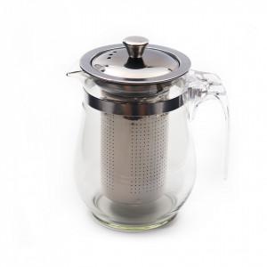 Ceainic de sticla cu infuzor, 500 ml