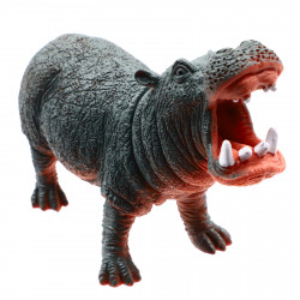 Figurina animal salbatic, Hipopotam, 14 cm