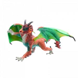 Figurina Dragonul Verde de foc, 20 x 25 cm