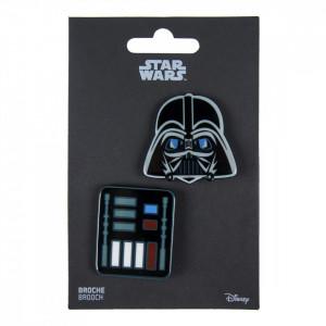 Set 2 insigne, Star Wars Darth Vader, 4.5 x 5 cm