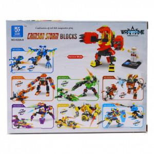 Set de constructie Lego, Crimson Storm, 100 piese