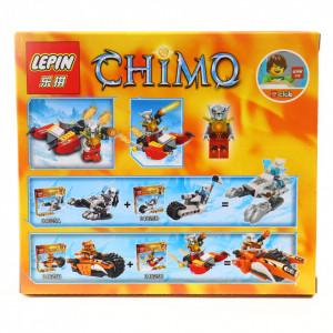 Set de constructie Lego, Lupul ghetii, 50 piese