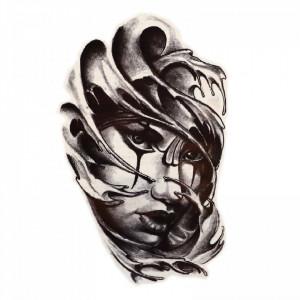 Tatuaj temporar, Dark Shadow, GF969, 15 x 9 cm