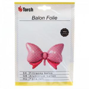 Balon folie, Fluture, 88 x 62 cm, Roz
