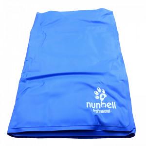 Covoras profesional racoritor pentru animale, Nunbell, Albastru, 90x50 cm