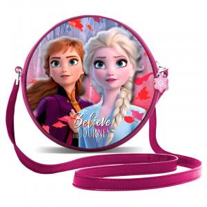 Gentuta pentru copii Rotunda Elsa si Anna Frozen, 18 cm