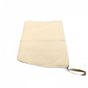 Husa/saculet incataminte pentru depozitare, organizare sau transport, 25 x 25 cm, Bej