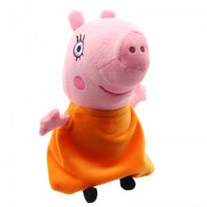 Jucarie de plus, Peppa Pig, Mamma Pig, 20 cm, Roz
