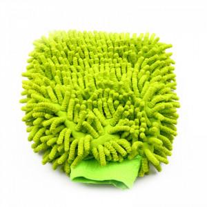 Manusa din microfibra pentru suprafete, Verde, 24 cm