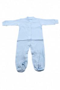 Salopeta bebe cu botosi, Bleu, 0 - 3 luni, SB03SB10