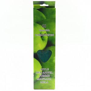 Set 60 buc, Betisoare parfumate, aroma Mar verde, 26 cm