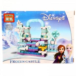 Set de constructie, Frozen si poarta spre alta dimensiune, 88 piese