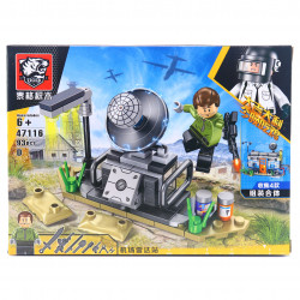 Set de constructie Lego, Conexiune prin satelit tip PUBG, 93 Piese