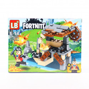 Set de constructie Lego, Marea Batalie tip Fortnite, 81 Piese