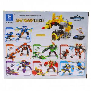 Set de constructie Lego, Super Warship, 93 piese