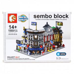 Set de constructie Lego, Supermarket Wallmart, 274 piese