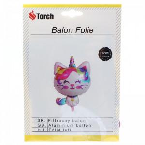 Balon folie, Pisicuta, 92 x 60 cm, Multicolor