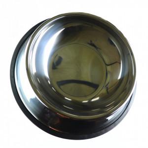Bol pentru caini sau pisici, din inox, 22cm