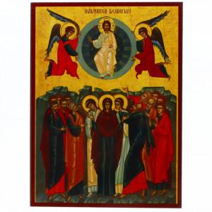 Icoana Inaltarea Domnului, lemn, 14x19 cm