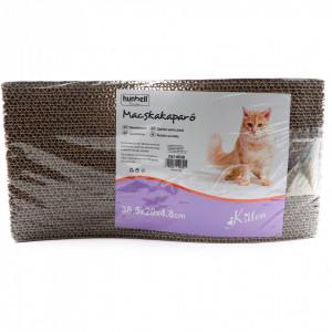 Jucarie pentru pisica de zgariat cu gherutele, Carton, Maro, 38.5 x 20cm