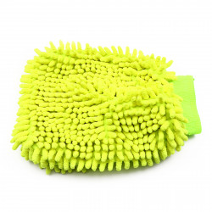 Manusa din microfibra pentru suprafete, Verde neon, 24 cm