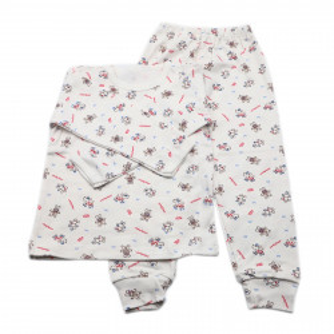Pijamale copii, Model ursuleti si soricei, Model Romanesc, Bumbac, 4 - 5 ani, P45P7