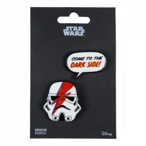 Set 2 insigne, Star Wars Stormtrooper, Come to the dark side, 4 x 4.5 cm