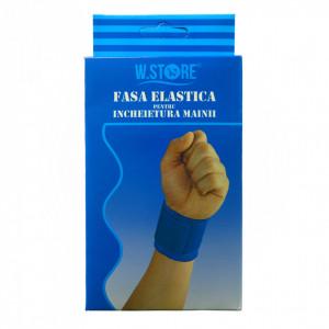 Set 2 suporturi elastice pentru incheietura mainii, compatibil cu activitatea fizica, ofera confort si siguranta, marime universala, reglabil