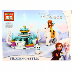 Set de constructie, Frozen si Calul fermecat al Anei, 81 piese