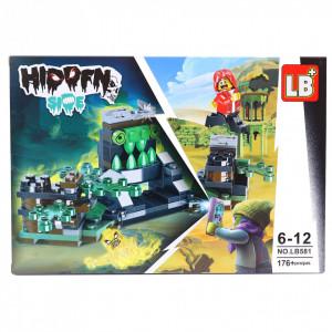 Set de constructie Lego, Lumea fantomelor, 176 piese