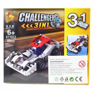 Set de constructie Lego, Masina de curse, 65 piese